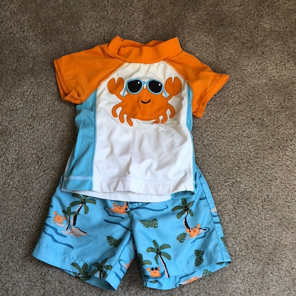 84e3f9996c Gymboree Swim | 3 For 10 Baby Boy Suit And Rash Guard | Poshmark